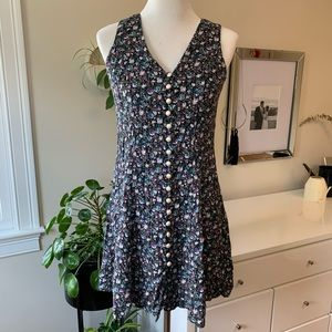 Vintage Especially Yours Floral Button Down Dress
